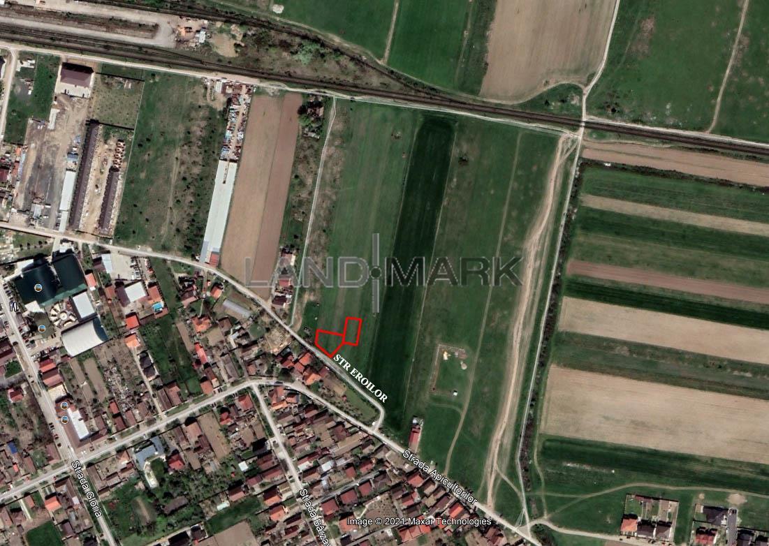 Teren de CASA de vanzare in zona Giroc  DAF