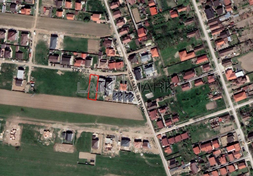 Teren pentru CASA de vanzare in zona Giroc spre Chisoda