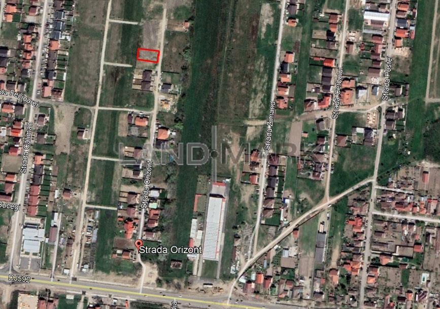 Teren pentru CASA de vanzare in zona Mosnita pe stanga