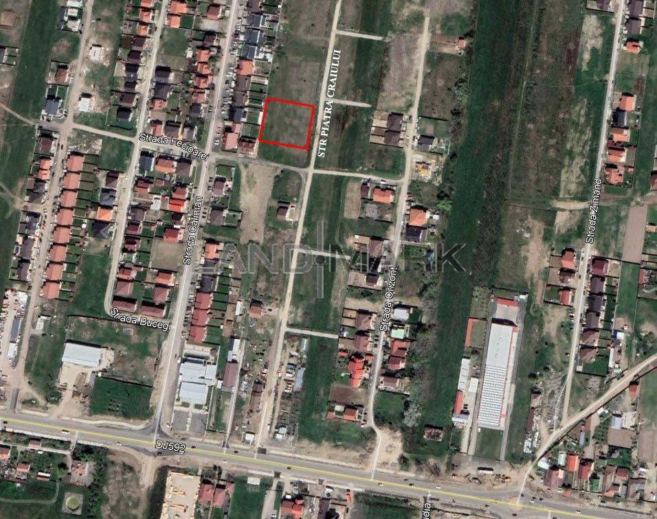 Teren de SERVICII de vanzare in zona Mosnita pe stanga