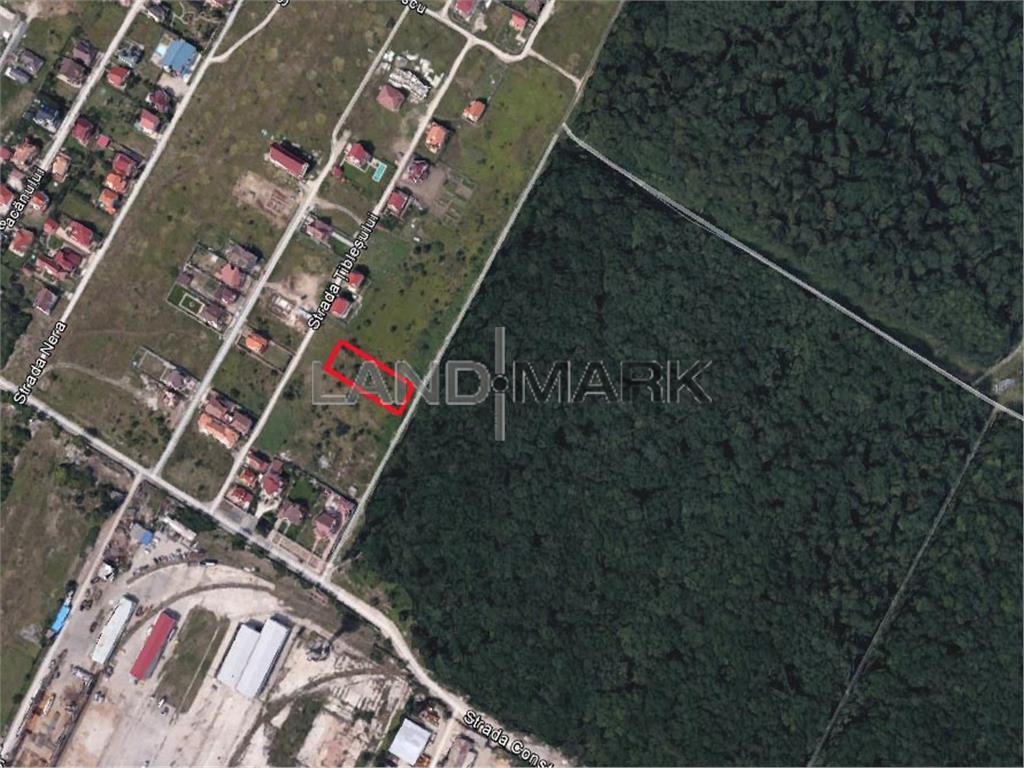 Teren pentru BLOC de vanzare in zona Dumbravita cu vedere la padure