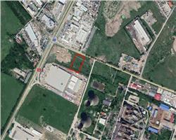 Teren industrial - comercial de vanzare in zona Sagului