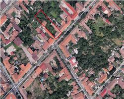 Teren 1344 mp, zona Fabric, utilitatile in fata parcelei