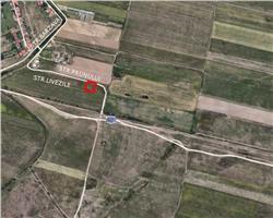 Teren de vanzare in zona Giroc str. Livezilor