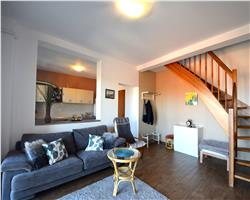 Apartament bloc din 2008, pe 2 nivele, mobilat, lux, zona centrala